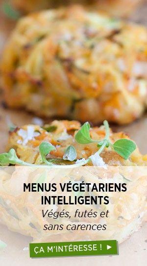 Menus vegetarien