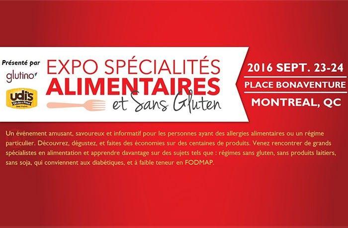 Expo Spécialités Alimentaires et Sans Gluten
