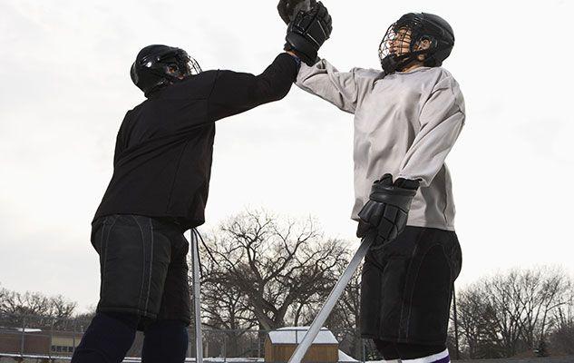 Quoi faire et ne pas faire pour augmenter sa masse maigre pendant la saison de hockey ?