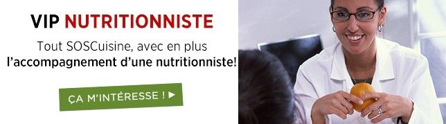 Service VIP Nutritionniste