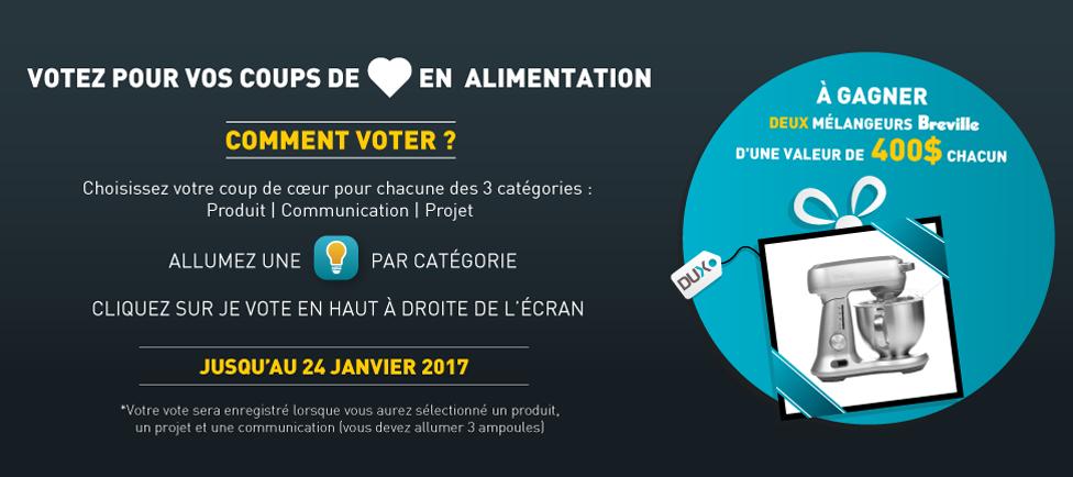 Concours DUX Vote du public FR