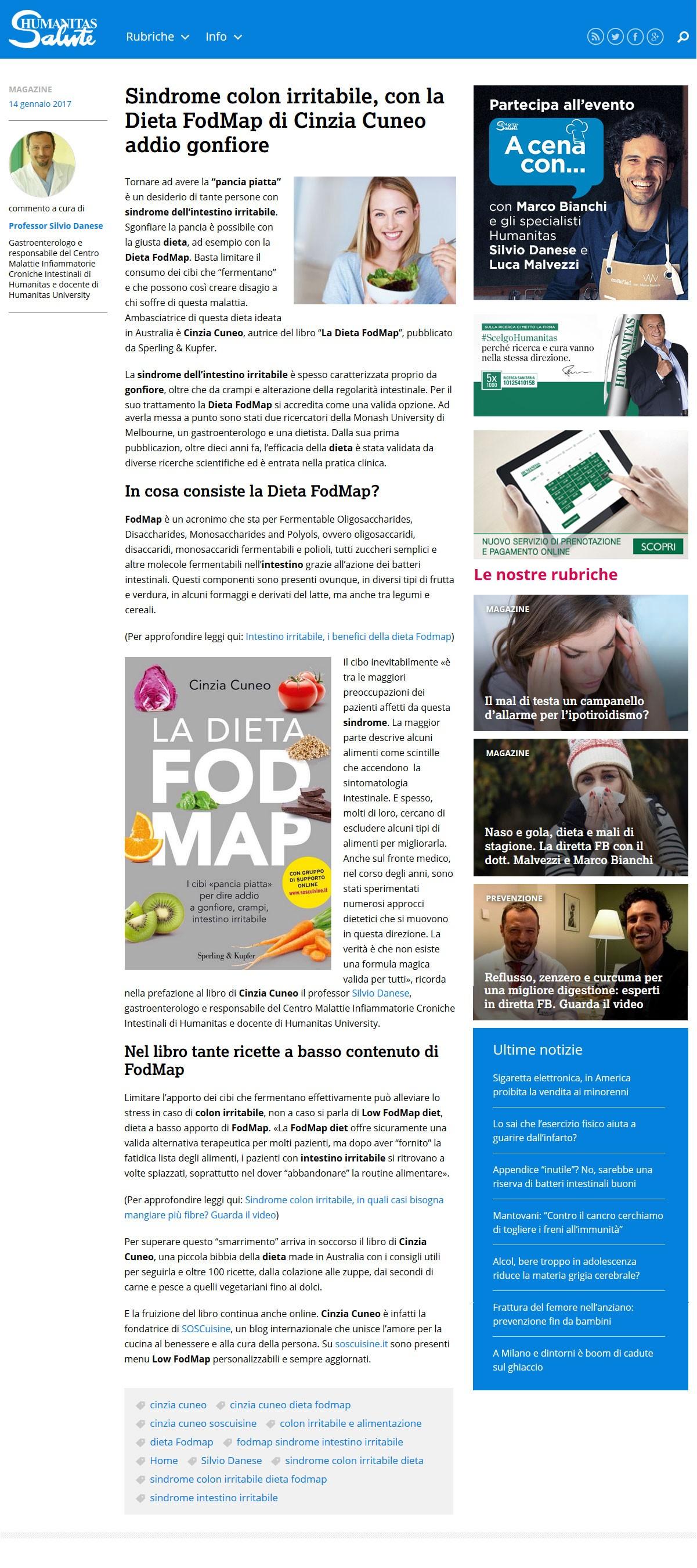 Media Coverage Soscuisine