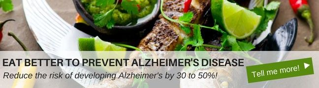 Meal plans for the prevention of Alzheimer's Disease