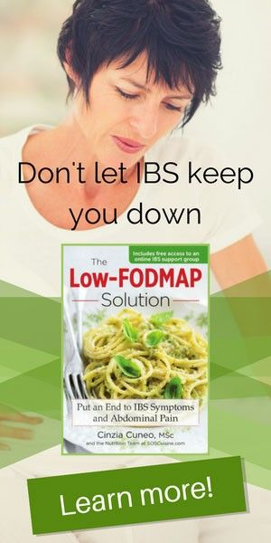 The low-FODMAP Solution: Get the book