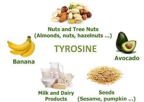 Foods that have tyrosine