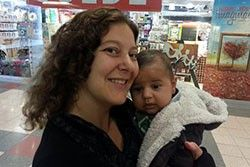 Meet Sara and baby Aidan!