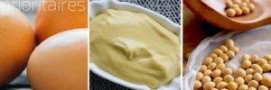 Allergènes prioritaires : Moutarde, oeufs et soja