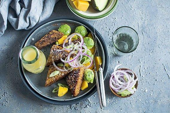 Salade-tempeh-avocat-mangue