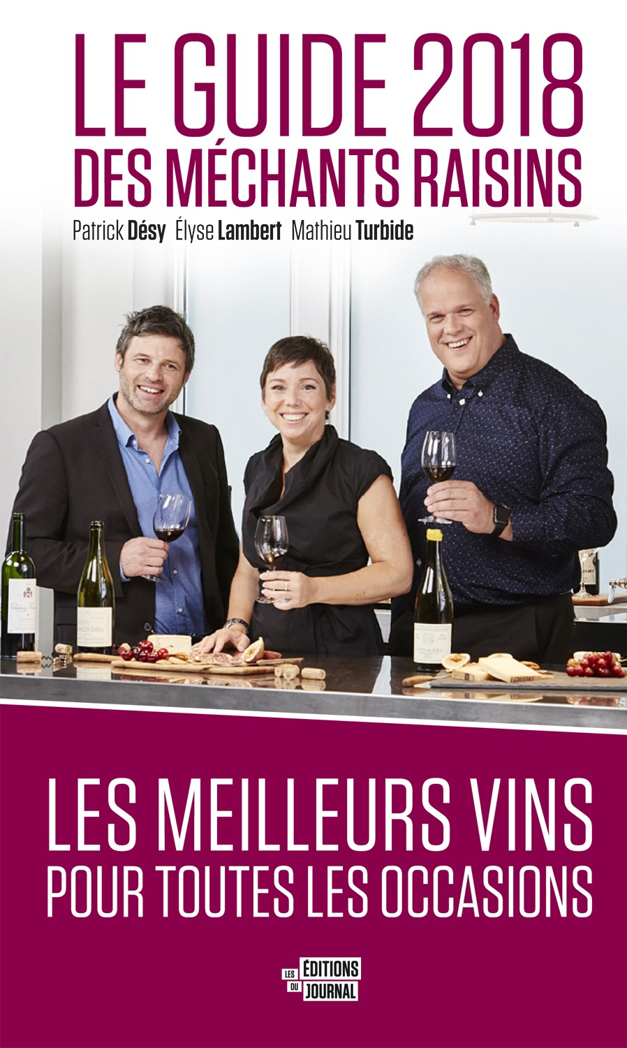 Le guide 2018 des Méchants Raisins