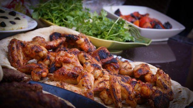 chicken wings ailes de poulet