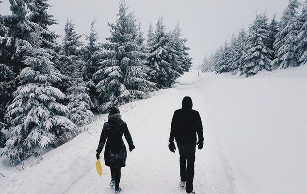 hiver winter walk marche