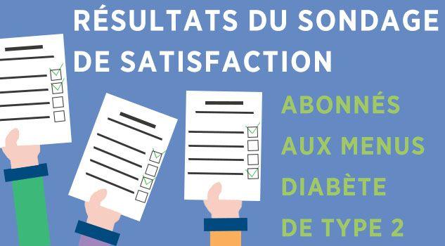 resultats sondage diabete de type 2