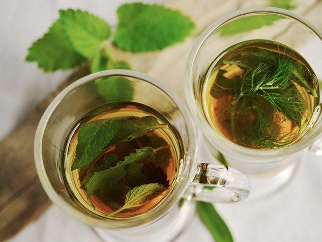 green tea thé vert