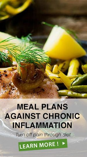 Meal Plans Against Chronic Inflammation