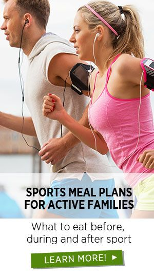 Sports Meal Plans