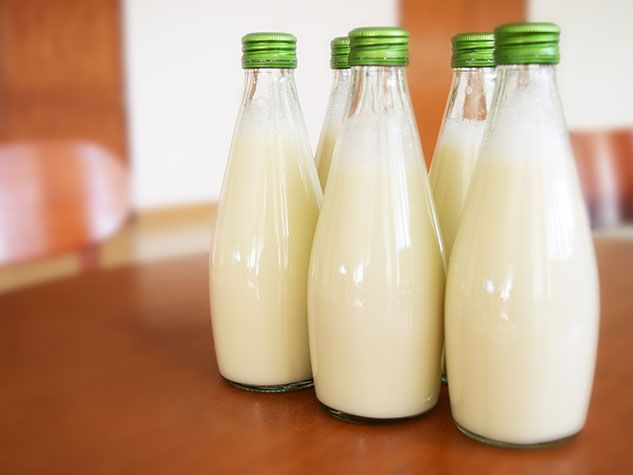 boisson de pois lait