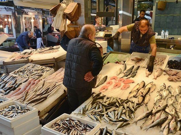 poissons marché