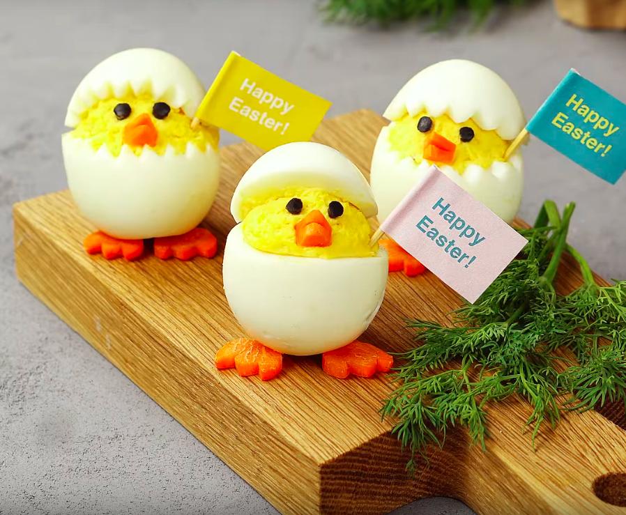 Chick Deviled Eggs