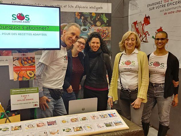 soscuisine expo manger santé et vivre vert 2019
