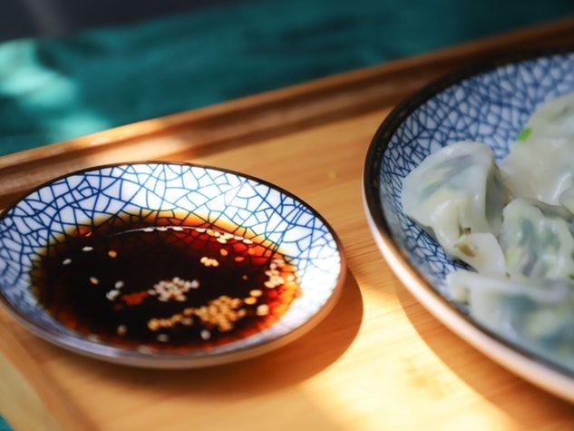 sauce soja dumpling soy