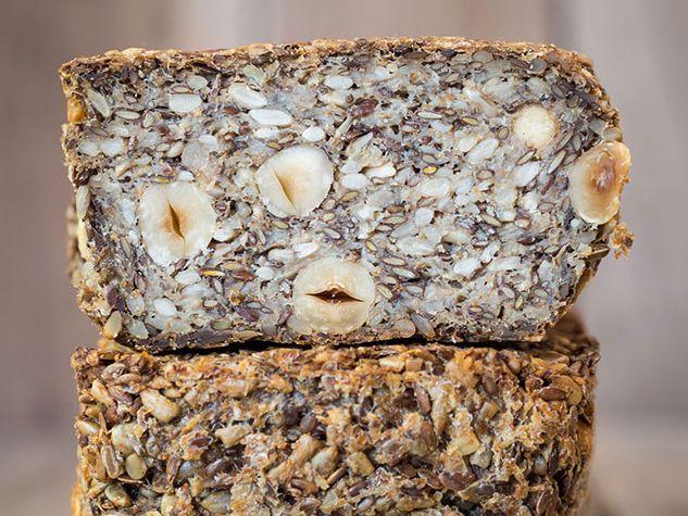 Pain de noix et graines