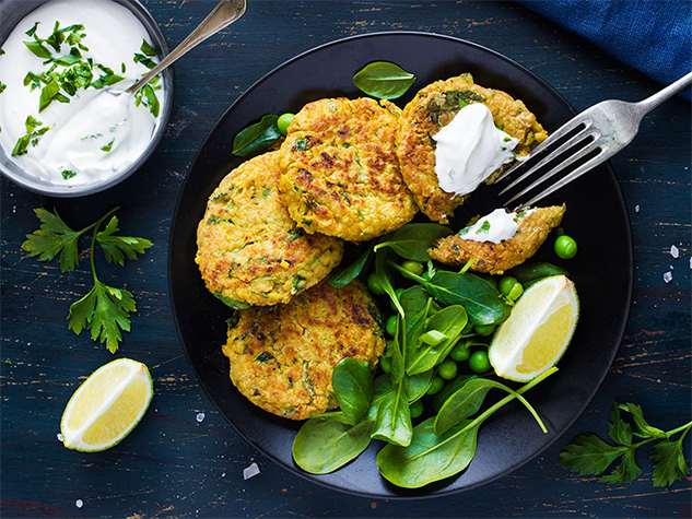 Quick and Easy Falafel - Diets Cardiovascular Health