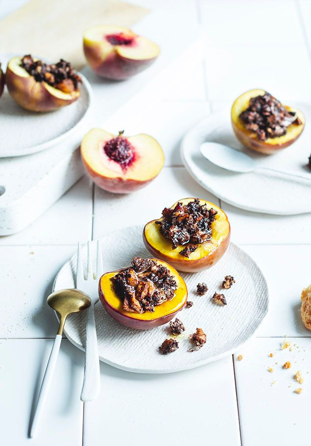Stuffed Peaches