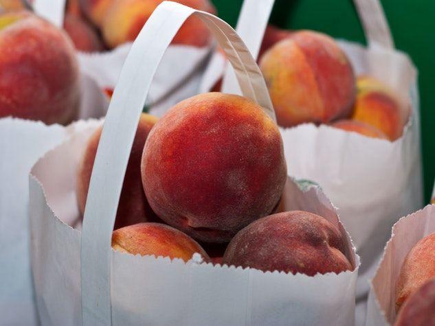 peaches pêches