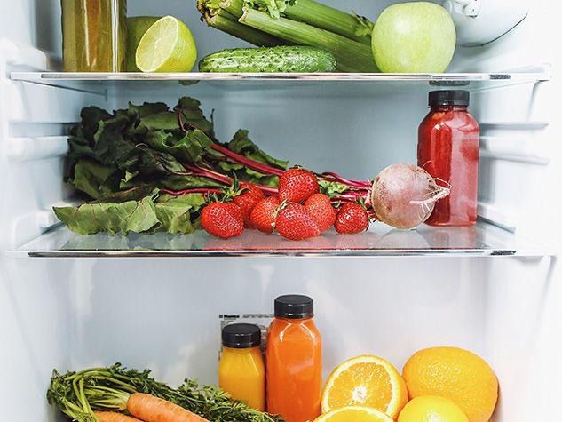 food waste kitchen fridge