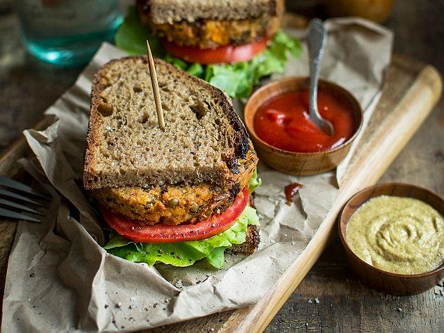 Vegan Patty Sandwich