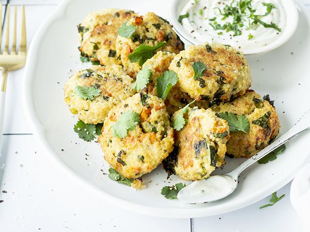 Crocchette di miglio e verdure