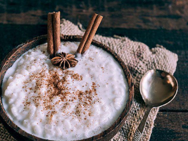 Pouding riz noix de coco